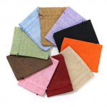 Jute gift bags - diverse kleuren