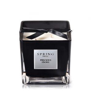 Geurkaars zwart - Spring by InteriorScent