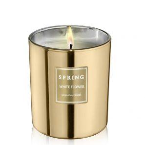 Geurkaars goud - Spring by InteriorScent
